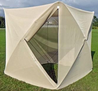 SKEETA CUBE Net Tent - open & Mosquito Netting No-see-um NettingBio control Field CagesBed ...